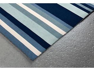 Sorrento Tribeca Blue 24' x 8' Rug, , large