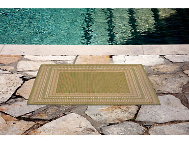 "Etched Border 3'3"" x 4'11"" Rug, , large"