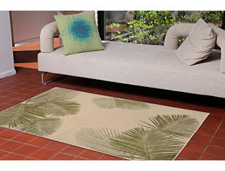 "Palm Natural 10"" x 7'6"" Rug, , large"