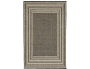 "Etched Border 4 10""X7 6"" Rug, , large"