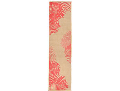 "Palm 23""X7 6"" Natural Rug, , large"