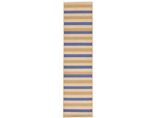 "Multi Stripe 23""X7 6"" Rug, , large"