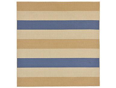 "Multi Stripe 7 10"" SQ Rug, , large"