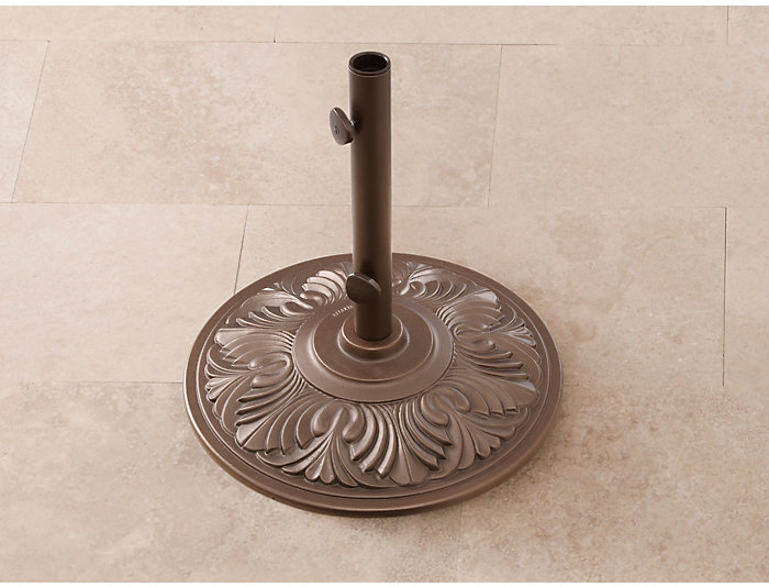 50 lb Art Deco Umbrella Base, , large