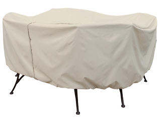 Round Table & Chairs Cover, , large