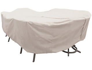 Table & Chair Cover - Oval, , large