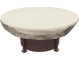 Round Firepit Cover, , large