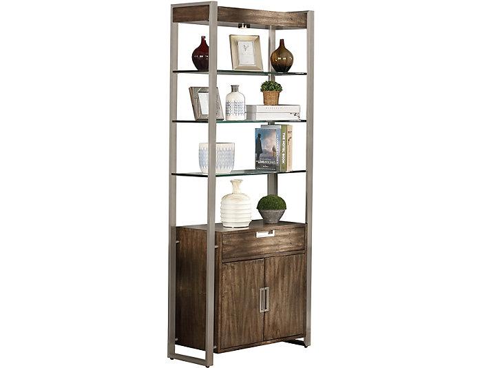 """Soho 80"""" Bookcase, , large"""
