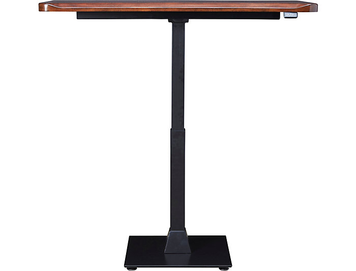 Jackson Cherry Sit and Stand Desk, , large