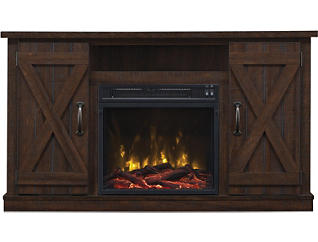 Cottonwood Fireplace/tv stand, , large