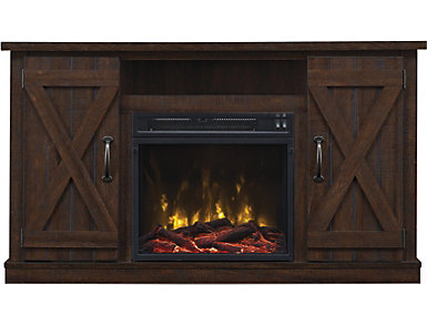 Cottonwood Fireplace Tv Stand Large