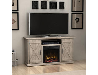 Cottonwood Ashland Pine Fireplace, , large