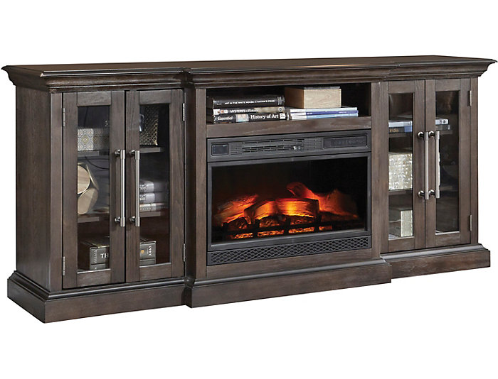Grand Media Fireplace, , large
