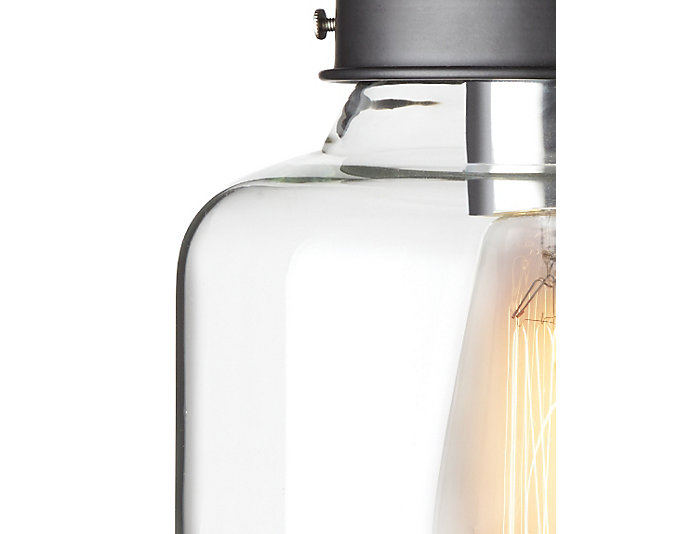 Beck Glass Pendant Light, , large