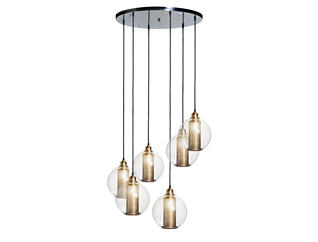 Wyatt Orb Chandelier, , large