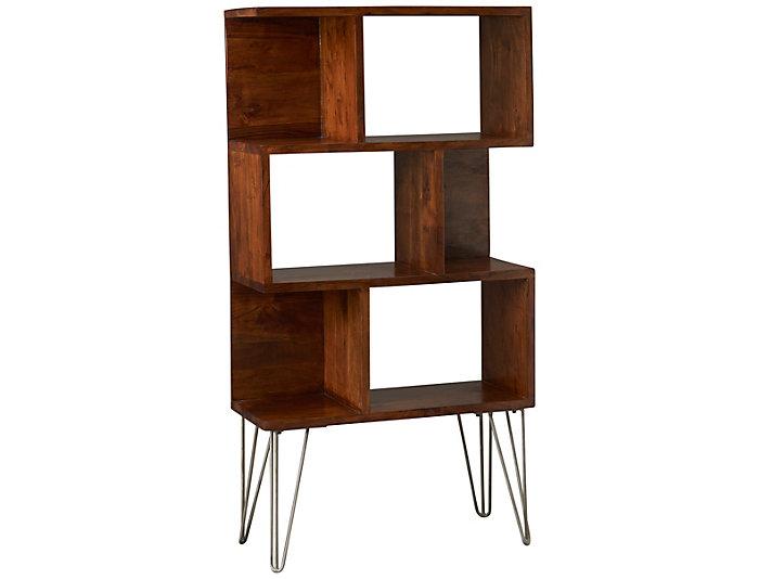 Reflections Wood/Metal Shelf, , large