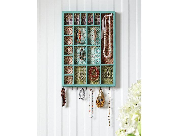 Wall Decor Jewelry Organizer, , large