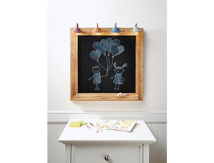 Wooden Lighted Blackboard, , large