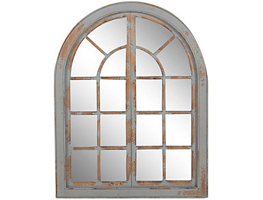 Window Wall Mirror, , large