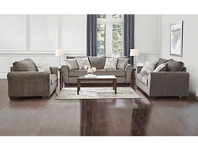 Harlow Ash Sleeper Sofa, , large