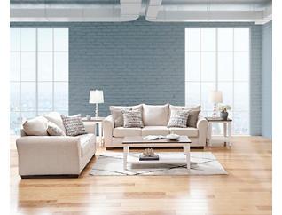 Harlow Sofa, Beige, large