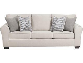 Harlow Sofa, Linen, Linen, large