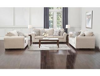 Harlow Sofa, Linen, large