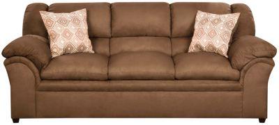 Bailey II Latte Sofa, Chocolate, swatch