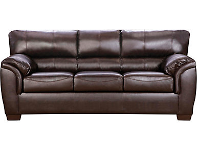 Walnut Sofa, , large