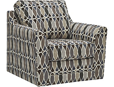 Deco Swivel Accent Chair, , large