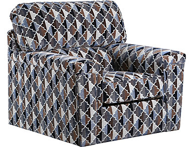 Chroma Swivel Accent Chair, , large