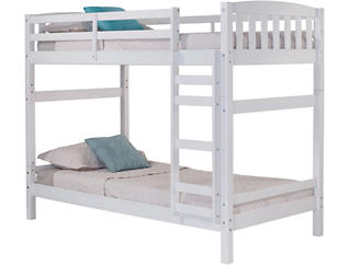 White Bunk Bed, , large