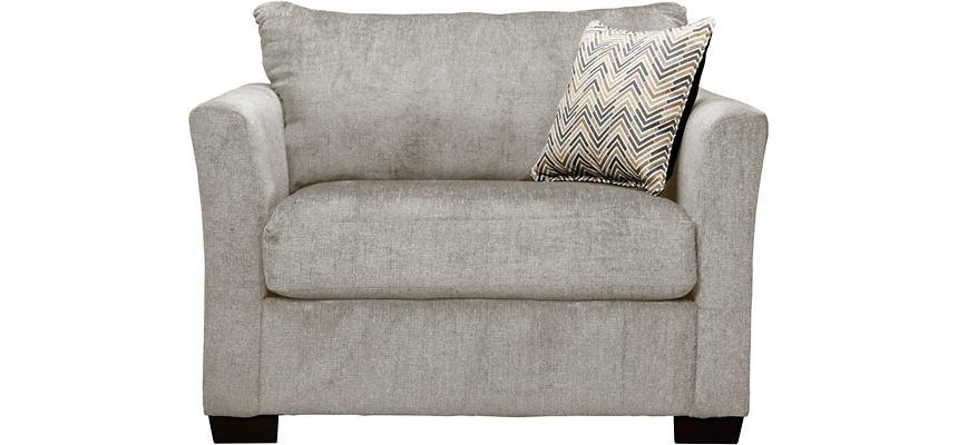 Webster Twin Sleeper Chair, Linen