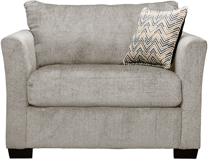 Webster Twin Sleeper Chair, Linen, , Large ...