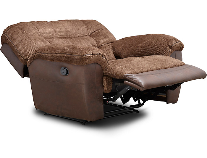 Groovy Skylar Chocolate Manual Cuddler Recliner Outlet At Art Van Gmtry Best Dining Table And Chair Ideas Images Gmtryco