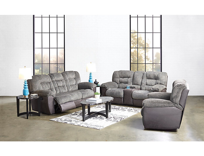 Peachy Skylar Charcoal Manual Reclining Sofa Outlet At Art Van Gmtry Best Dining Table And Chair Ideas Images Gmtryco