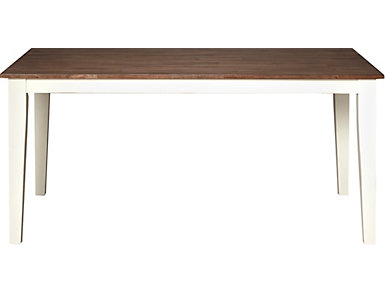 A la Carte White Rectangular Table, , large