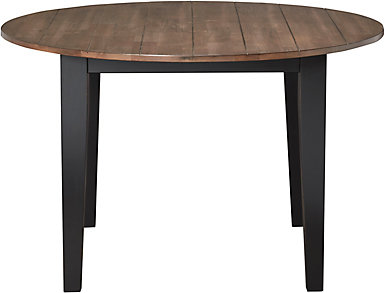 A la Carte Black Round Table, , large