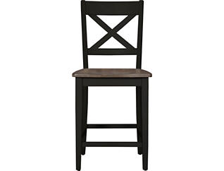 a la Carte Counter Height Stool - Black, Black, large
