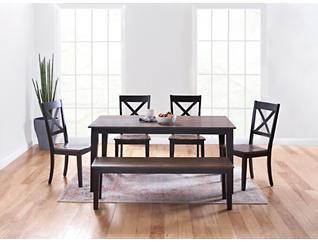 a la Carte Rectangular Table - Black, Black, large