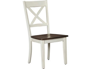 A-La Cart White Dining Chair, , large