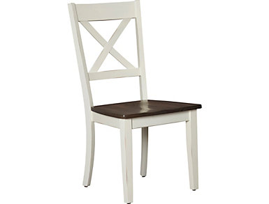 A la Carte White Dining Chair, , large