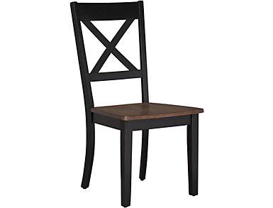 A la Carte Black Dining Chair, , large