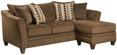 Albany Sofa Chaise, Chestnut, swatch