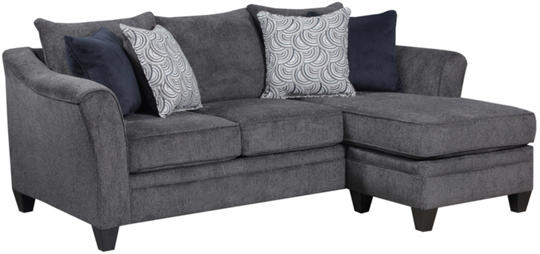 Pewter sofa thesofa for Albany saturn sectional sofa chaise
