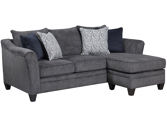 Fabulous Albany Pewter Sofa Chaise Jerome S Baci Living Room Ibusinesslaw Wood Chair Design Ideas Ibusinesslaworg