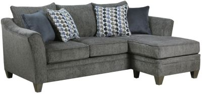 Albany Sofa Chaise, Slate, swatch