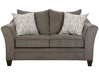 Albany Loveseat, Pewter, large
