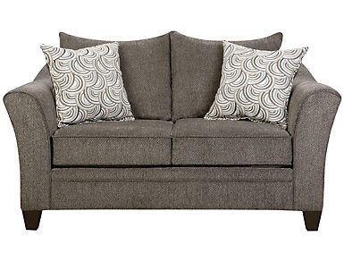Albany Slate Loveseat, Grey, large