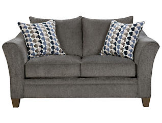 Albany Loveseat, Slate, large